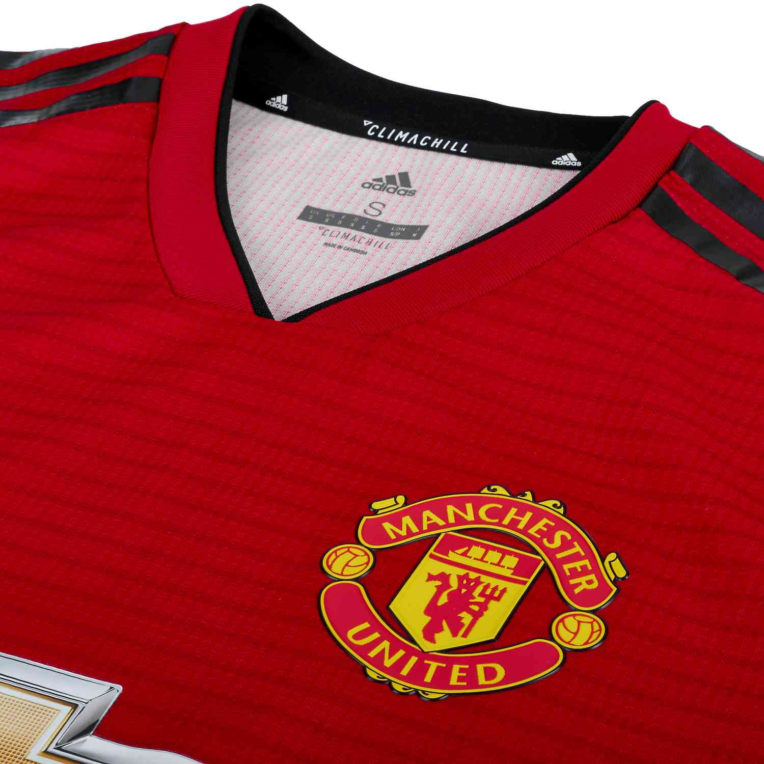 san francisco f2f27 7eeda adidas Manchester United Home Authentic Jersey 2018-19 ...