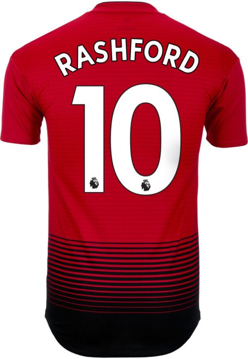 info for 73a01 8856a Marcus Rashford Jersey - England & Manchester United - SoccerPro