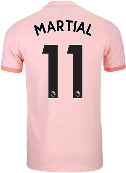 2018/19 adidas Anthony Martial Manchester United Away Jersey