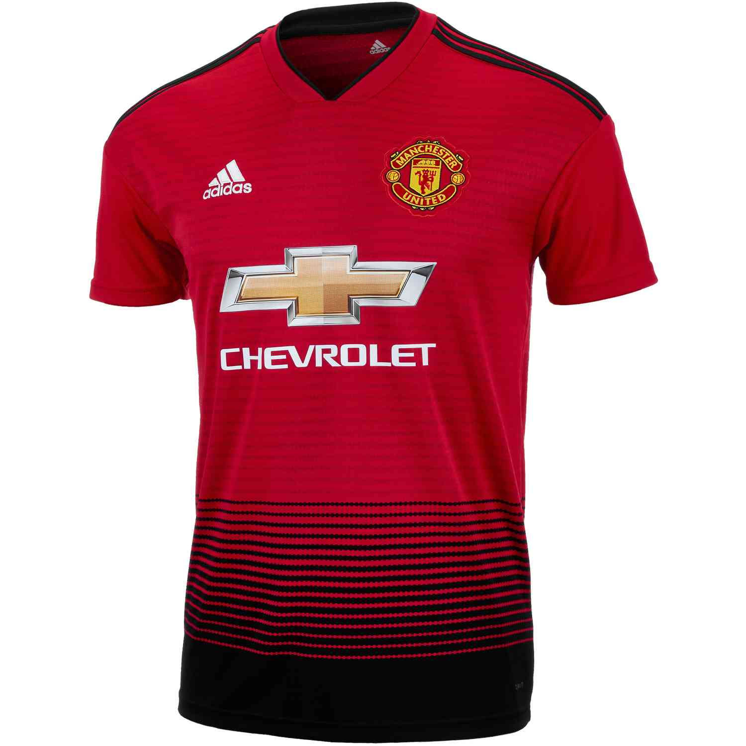 online store 80b30 b5361 adidas Manchester United Home Jersey 2018-19 - SoccerPro