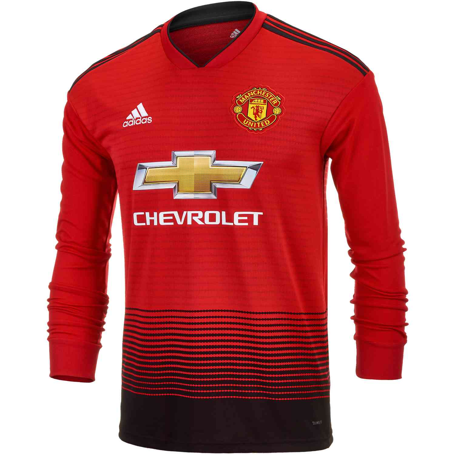 daeaa89fb03 adidas Manchester United Home L S Jersey 2018-19 - SoccerPro