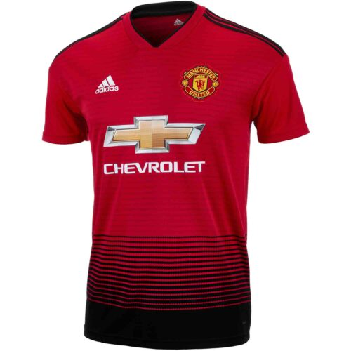adidas Manchester United Home Jersey – Youth 2018-19