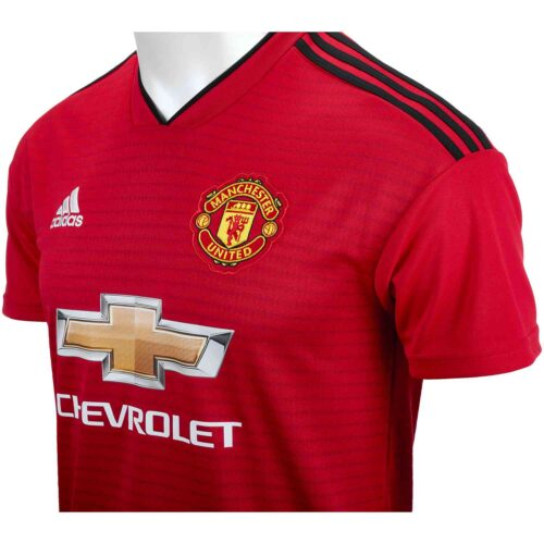 2018/19 adidas Kids David De Gea Manchester United Home Jersey