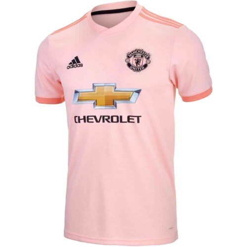 2018-19 Kids adidas Manchester United Away Jersey