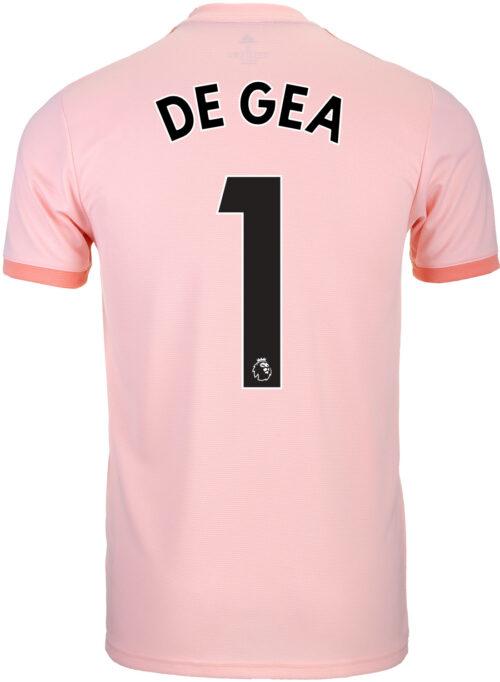 2018-19 Kids adidas David De Gea Manchester United Away Jersey