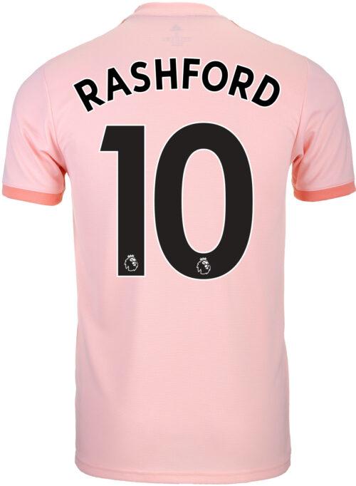 2018-19 Kids adidas Marcus Rashford Manchester United Away Jersey