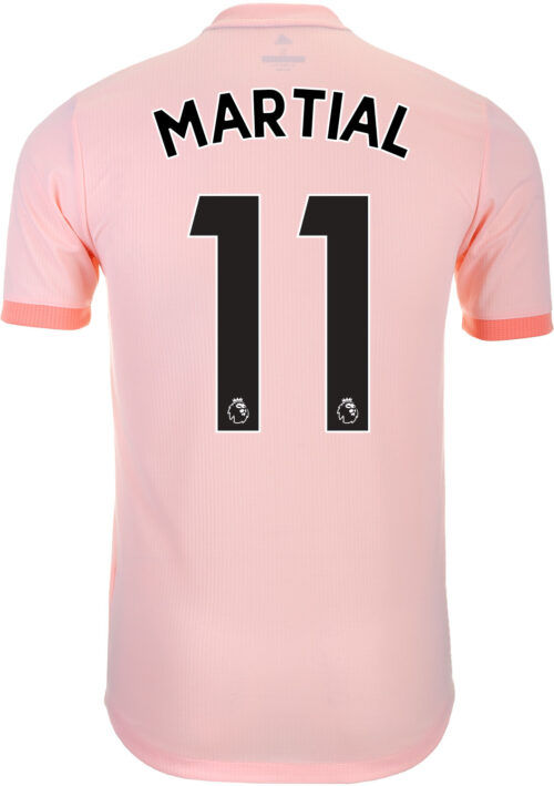 2018/19 adidas Anthony Martial Manchester United Away Authentic Jersey