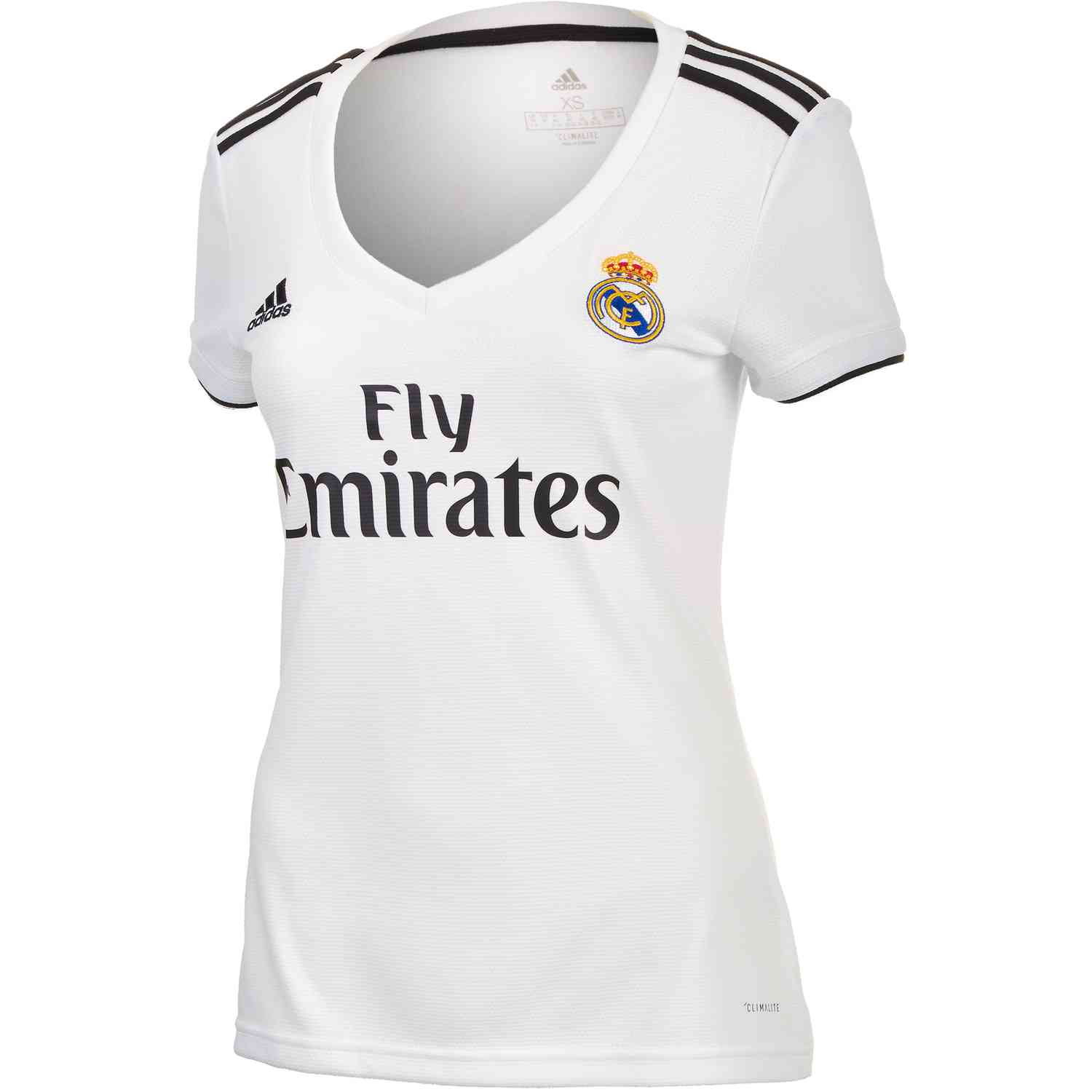 separation shoes d8eed c0d19 adidas Real Madrid Home Jersey - Womens 2018-19 - SoccerPro