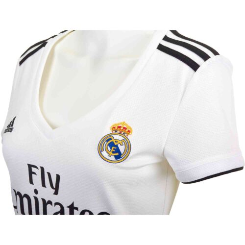 adidas Real Madrid Home Jersey – Womens 2018-19