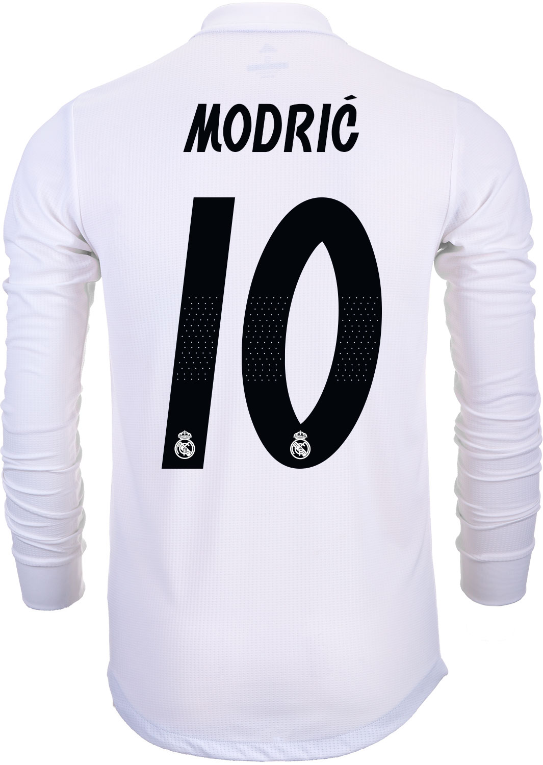check out af684 43a5b 2018/19 adidas Kids Luka Modric Real Madrid L/S Home Jersey ...
