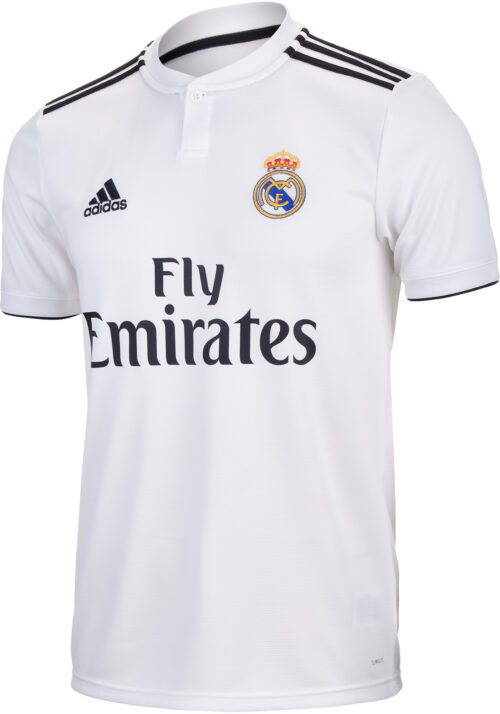 adidas Marcelo Real Madrid Home Jersey – Youth 2018-19