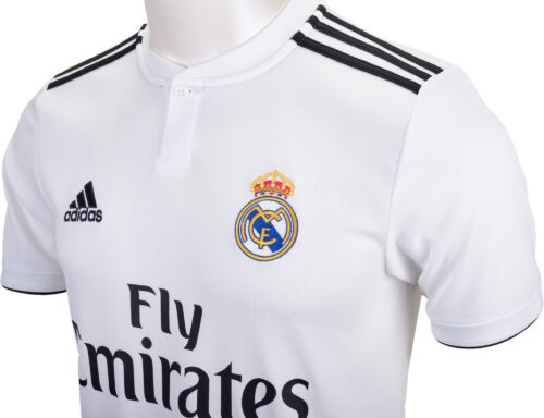 adidas Sergio Ramos Real Madrid Home Jersey – Youth 2018-19