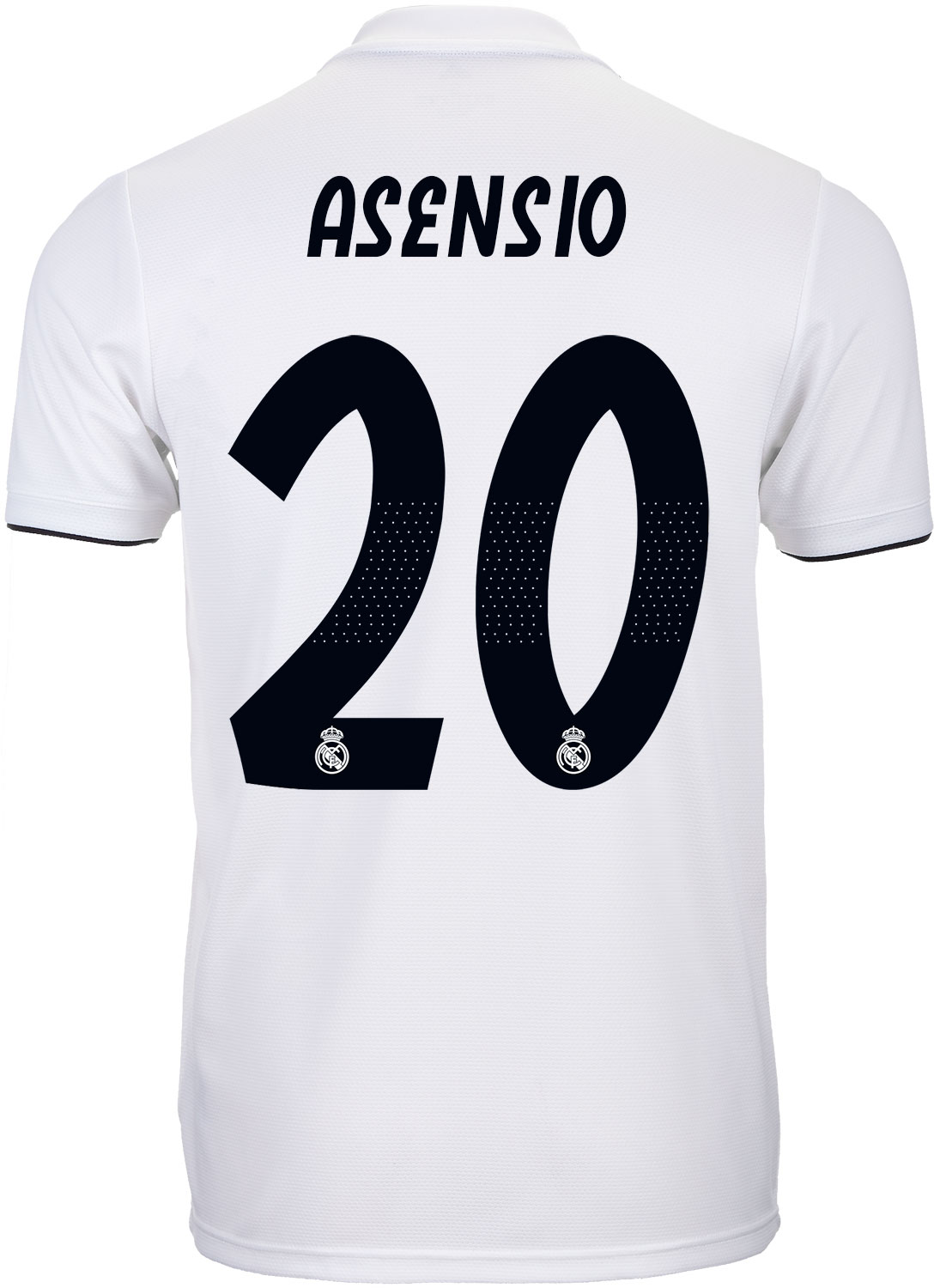 8c4084b5c adidas Marco Asensio Real Madrid Home Jersey - Youth 2018-19 - SoccerPro