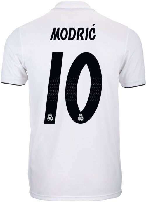 adidas Luka Modric Real Madrid Home Jersey – Youth 2018-19