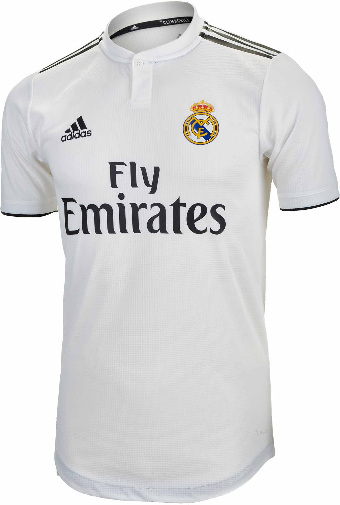 2db5ee6cd adidas Real Madrid Home Authentic Jersey 2018-19 - SoccerPro