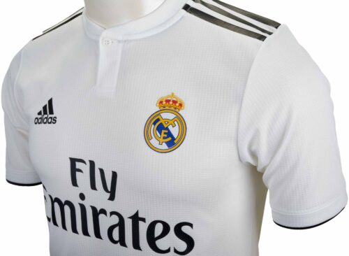 adidas Real Madrid Home Authentic Jersey 2018-19