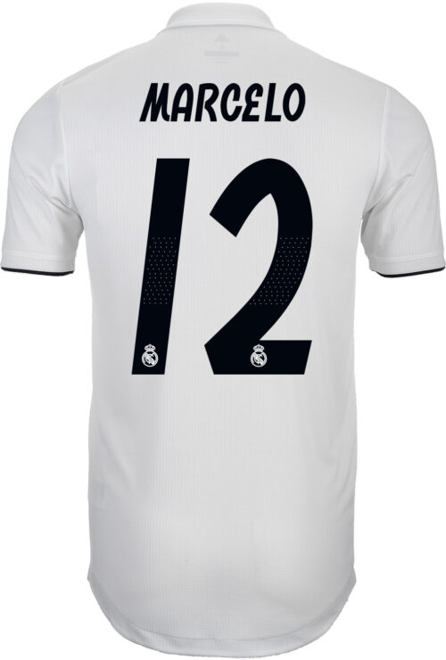 adidas Marcelo Real Madrid Home Authentic Jersey 2018-19