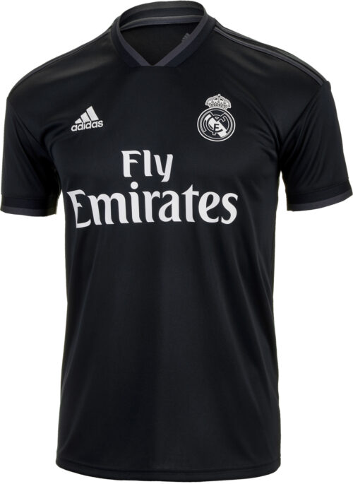 adidas Sergio Ramos Real Madrid Away Jersey – Youth 2018-19