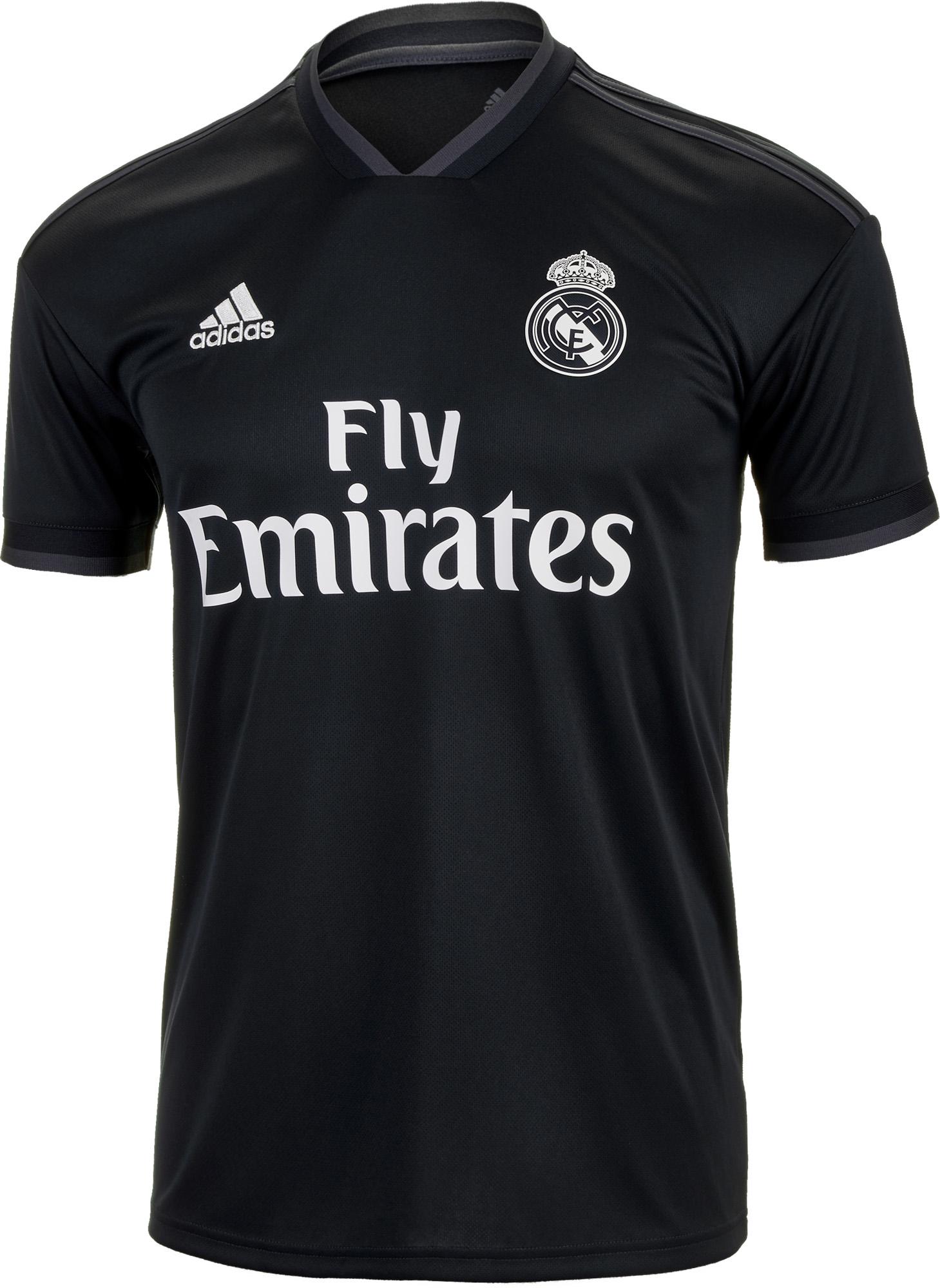 7ded2b6080e adidas Sergio Ramos Real Madrid Away Jersey - Youth 2018-19 - SoccerPro