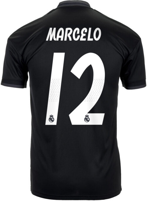 adidas Marcelo Real Madrid Away Jersey – Youth 2018-19