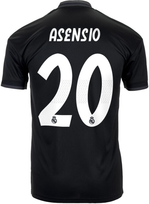 adidas Marco Asensio Real Madrid Away Jersey 2018-19