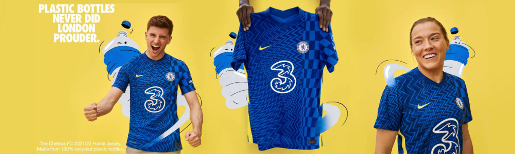 chelsea home jersey 2021-2022 by nike