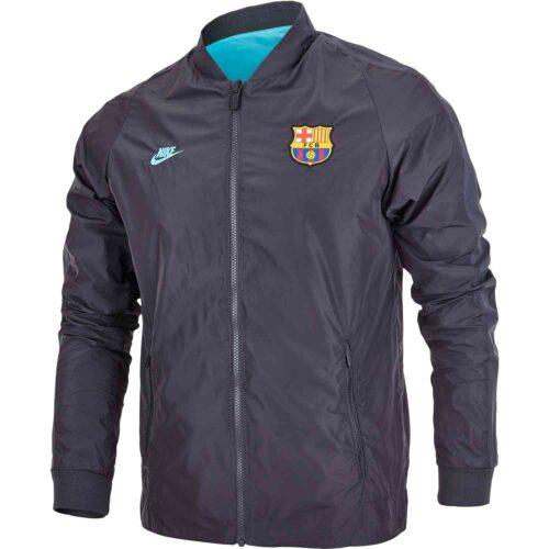 Nike Barcelona Reversible Jacket – Dark Smoke Grey/Cabana