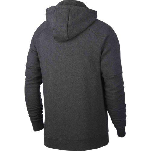 Nike Barcelona Pullover Fleece Hoodie – Anthracite/Dark Grey/Cabana
