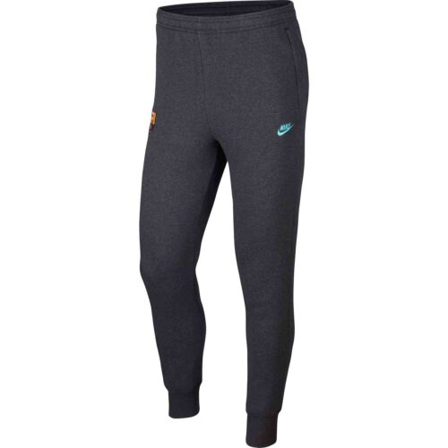 Nike Barcelona Fleece Training Pants – Anthracite/Dark Grey/Cabana