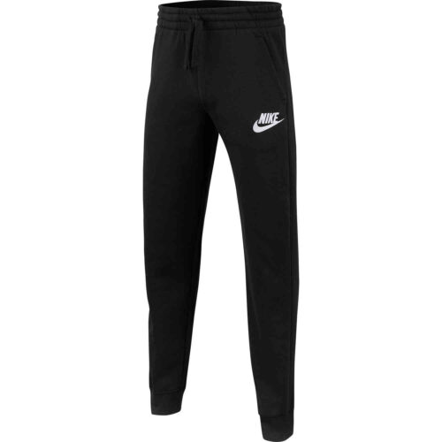 Kids Nike Club Fleece Jogger Pants – Black