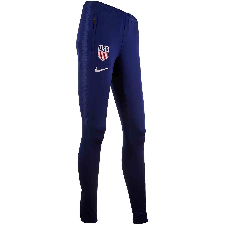 Womens Nike USWNT Training Pants Loyal BlueWhite Cleatsxp