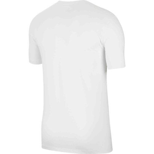 "Nike ""Just Do It"" Dri-Fit Cotton Tee – White"