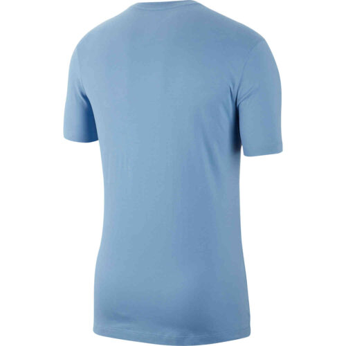 "Nike ""Just Do It"" Dri-Fit Cotton Tee – Light Blue"