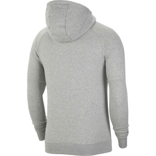 Nike USA Fleece Hoodie – Dk Grey Heather/Speed Red