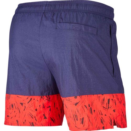 Nike France Woven Shorts – Blackened Blue & University Red