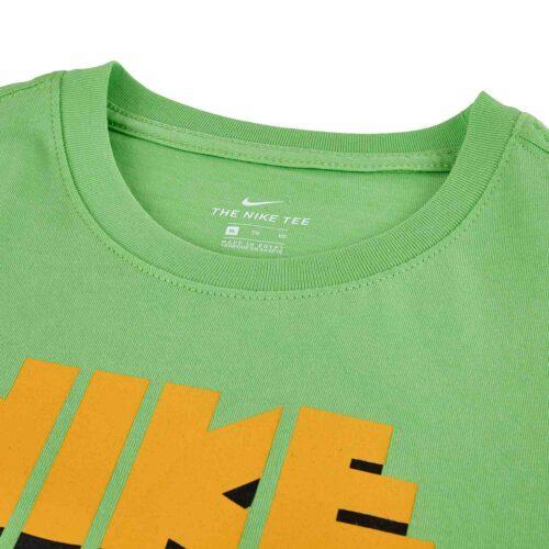 Kids Nike Babyteeth L/S Tee – Green Nebula
