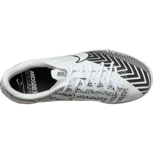 Kids Nike Mercurial Vapor 13 Academy IC – White & Black