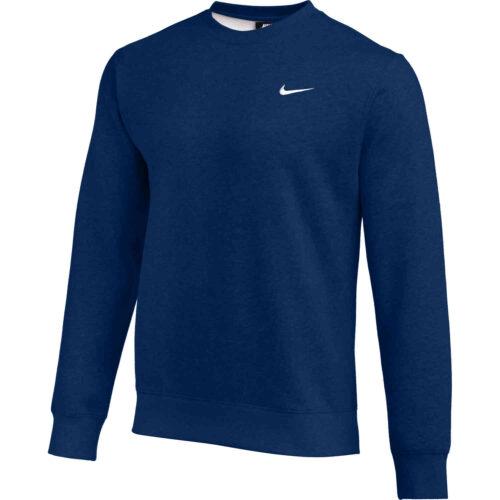 Nike Club Fleece Crew – Navy