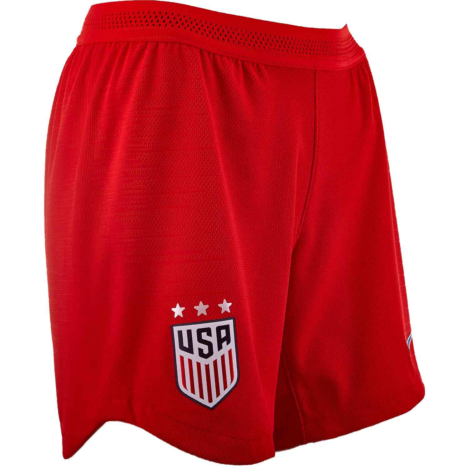 ae153b8f1b6cc Womens Nike USWNT Away Match Shorts – Speed Red/Bright Blue