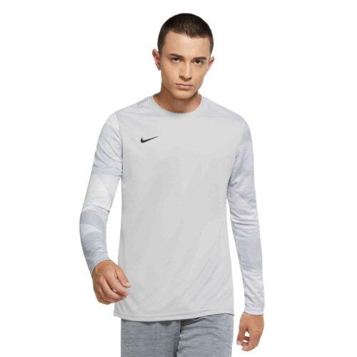 Nike Park IV Team Goalkeeper Jersey – Wolf Grey & White with Black