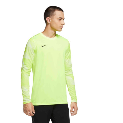 Nike Park IV Team Goalkeeper Jersey – Volt & White with Black