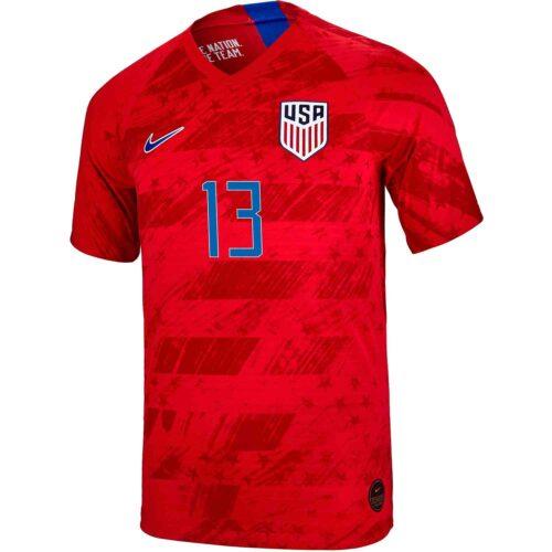 Kids Nike Alex Morgan USA Away Jersey – 2019