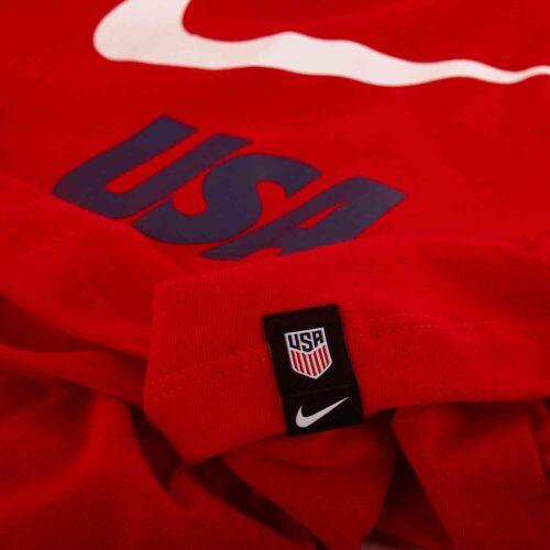 Womens Nike USWNT Graphic Tank – University Red