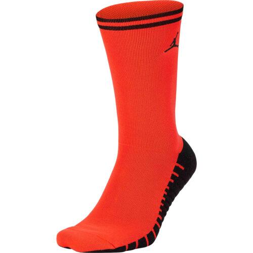 Nike x Jordan PSG Squad Crew Socks – Infrared 23/Black