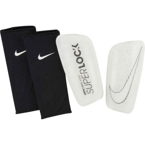 Nike Mercurial Flylite Superlock Shin Guards – Clear & Black