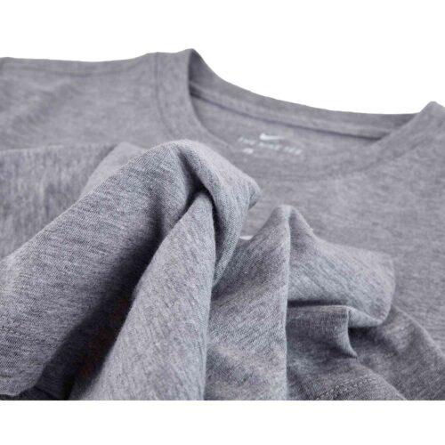 Kids Nike Reflective Futura Tee – Dark Grey Heather