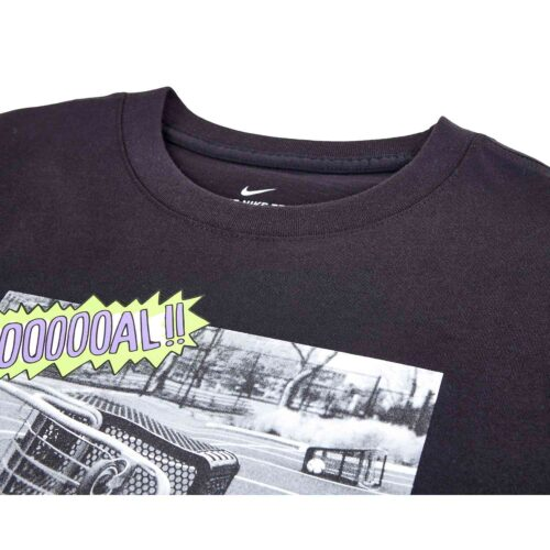 Kids Nike Soccer Carts Tee – Black