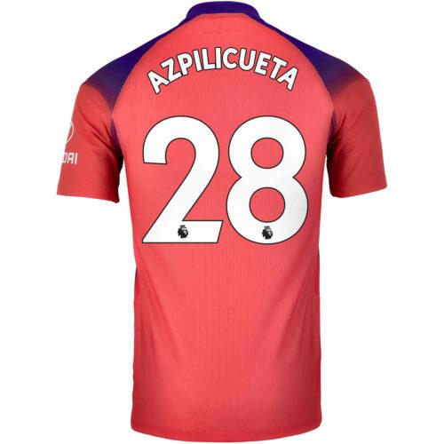 2020/21 Nike Cesar Azpilicueta Chelsea 3rd Match Jersey
