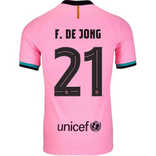 2020/21 Nike Frenkie de Jong Barcelona 3rd Match Jersey