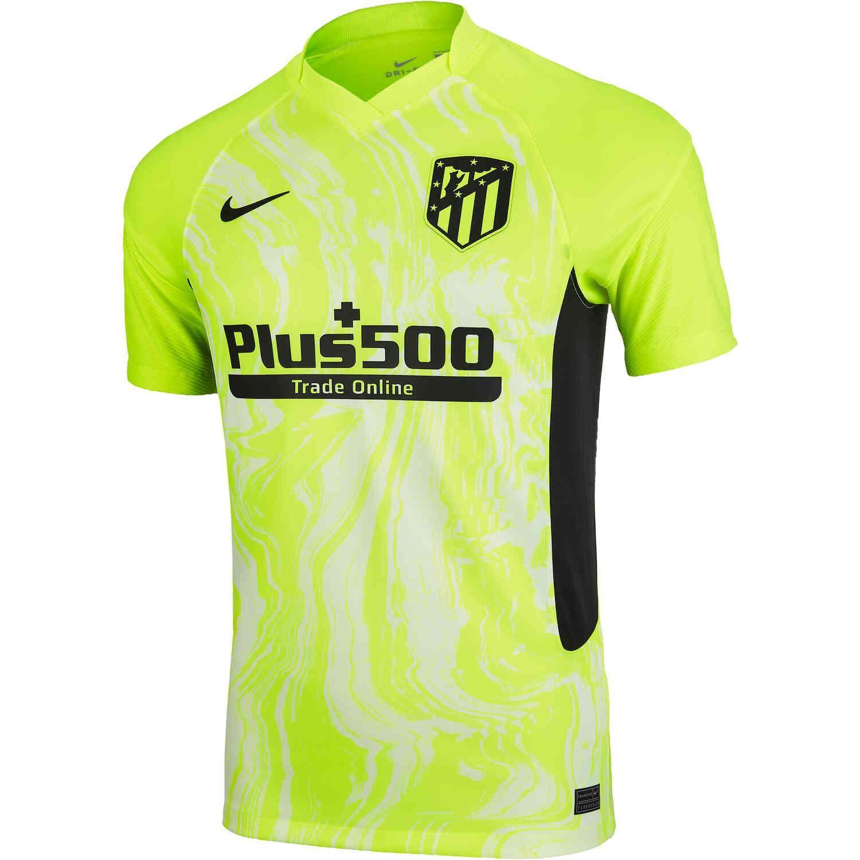 Nike Atletico Madrid 3rd Jersey 2020 2021 Soccerpro